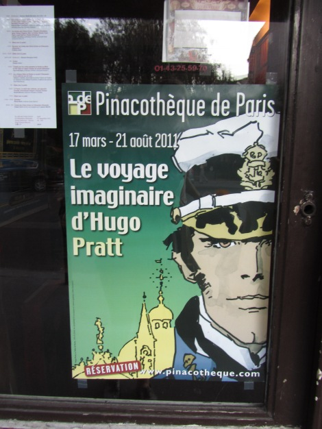 French translation from a poster in Paris.