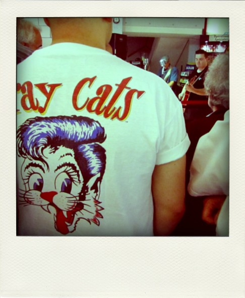 Stray Cats t-shirt Rockabilly