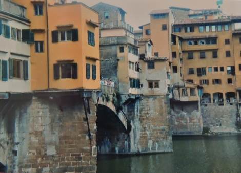 Ponte Vecchio bridge view in Florence