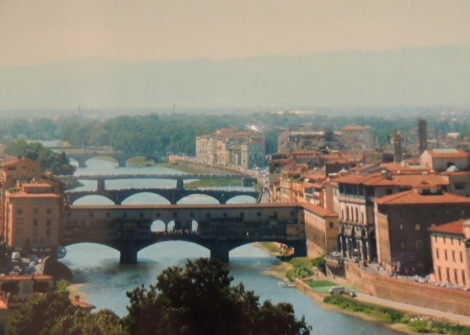 Bridges in Florence, Tuscany