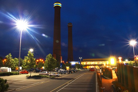 Ikea Croydon at Night, by Alex Harries