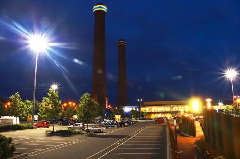 Ikea Croydon at Night, by Alex Harries