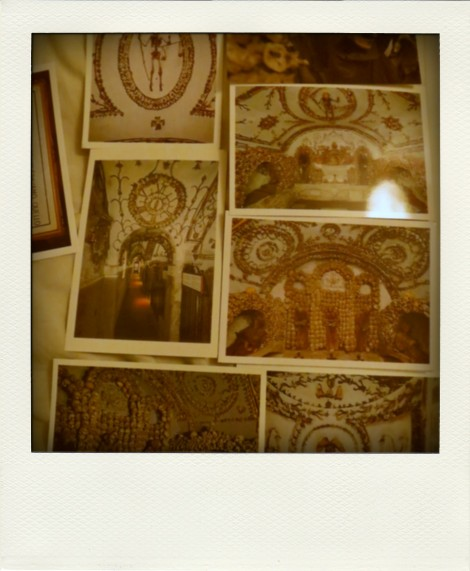 Skeletal postcards from the crypt of Santa Maria in Rome