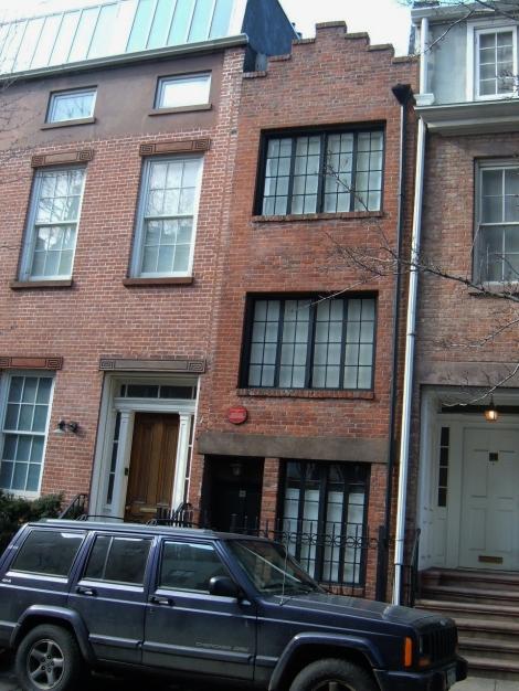 New York's smallest house, Greenwich Village