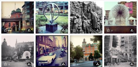 Visit Stockholm Instagram competition entries