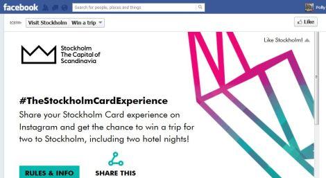 Visit Stockholm competition