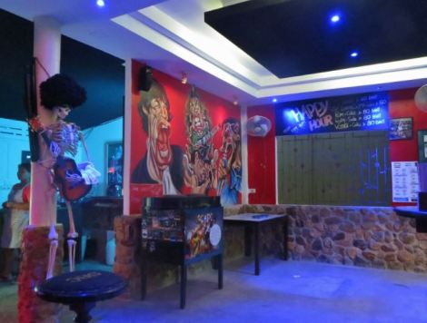 Rock Cafe interior