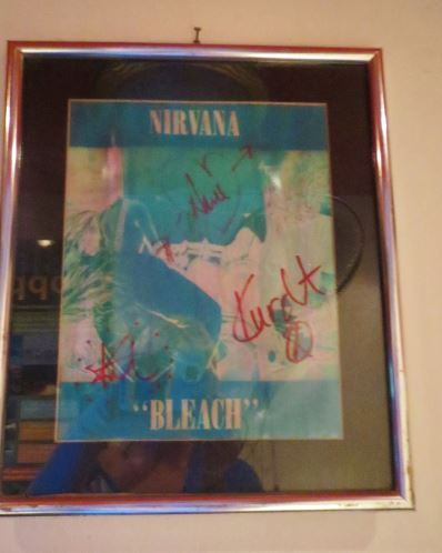 Signed Nirvana Bleach LP