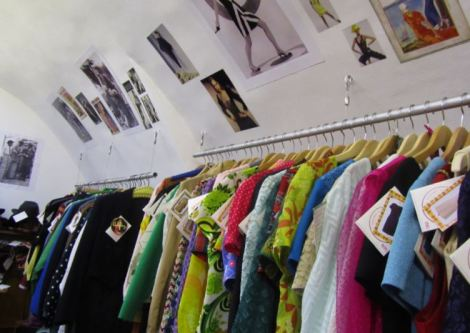 Trawling for vintage and retro clothing in Europe