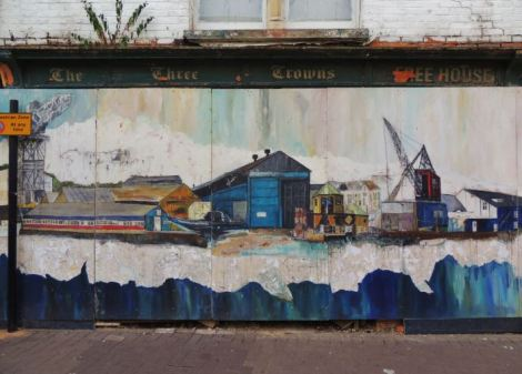 Street art on the Isle of Wight