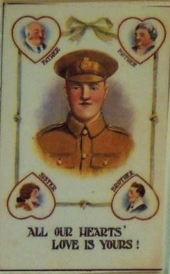 WWI postcard propaganda