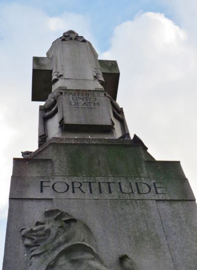 Edith Cavell Statue Fortitude