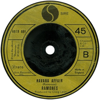 Havana Affair Ramones 45cat_com