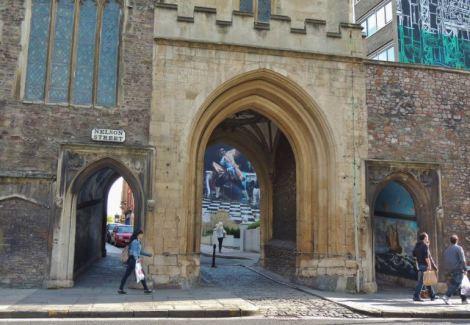 Bristol Graffiti Nelson Street