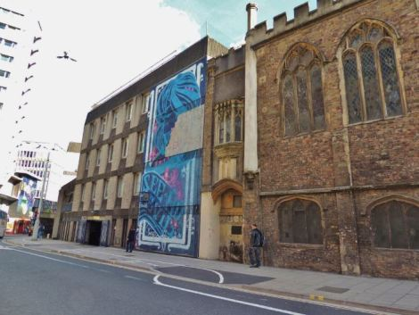 Bristol Graffiti See No Evil