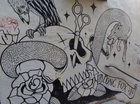 Bristol Graffiti Skull