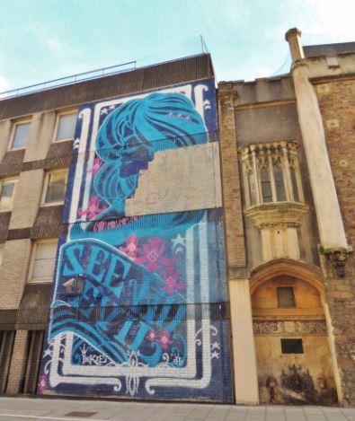 Bristol Graffiti Snippet