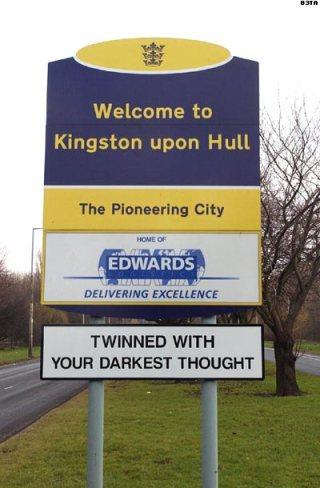 Hull Sign b3ta