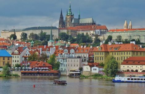 Prague Cathedral and Castle View