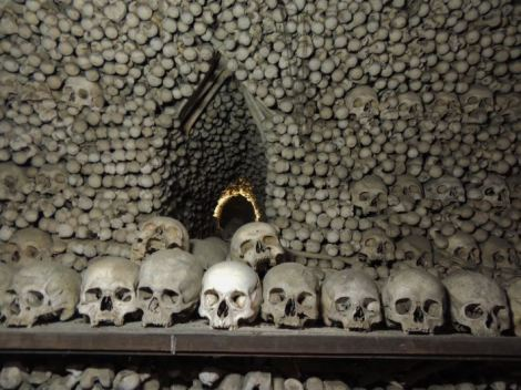 Sedlec Ossuary Bone Piles