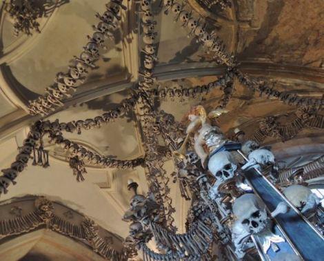 Sedlec Ossuary Ceiling 2