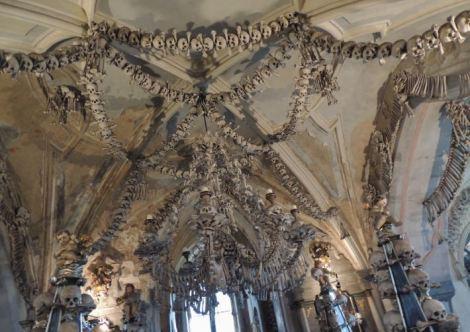 Sedlec Ossuary Ceiling