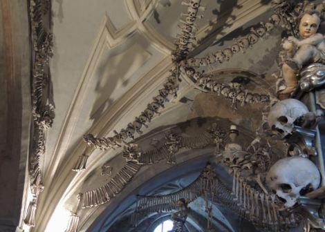 Sedlec Ossuary Cherubs
