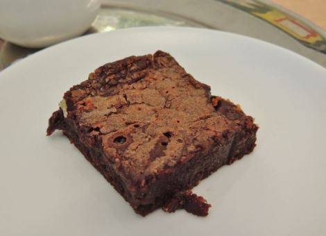 LFW Guinness Brownie