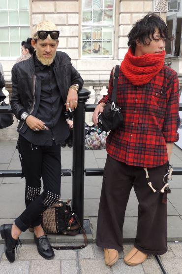 LFW Street Style Menswear