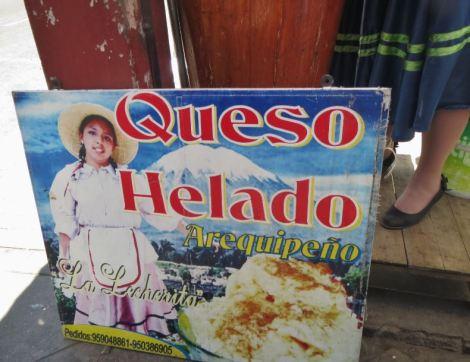 Peru Arequipa Queso Helado