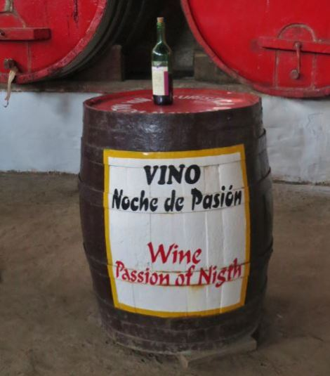 Peru Wine at traditional winery