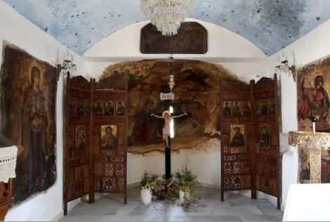 San Giorgio Mykonos Murals