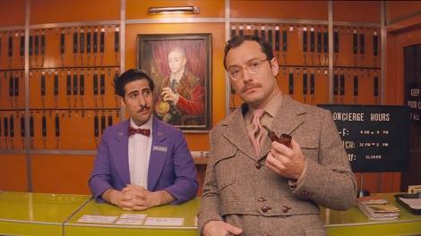 Grand Budapest 60s concierge