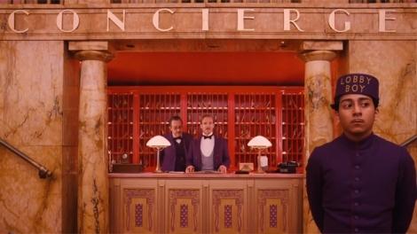 Grand Budapest Concierge