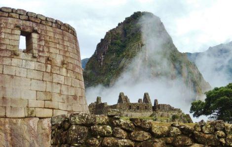 Peru Machu Picchu Sun Temple