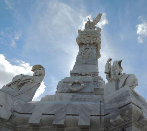 Cementerio Colon Sun